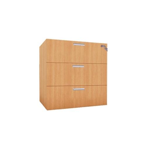 ERGOSTAR Pedestal Fix 3 Drawer [PFP-3D] - Drawer